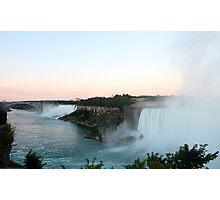 The View of Niagara Falls  Photographic Print