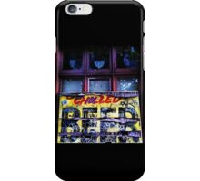 chilled beer iPhone Case/Skin