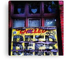 chilled beer Canvas Print