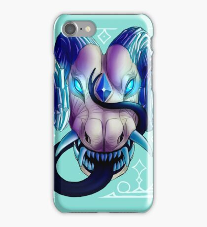 Blue-Eyed Dragon iPhone Case/Skin