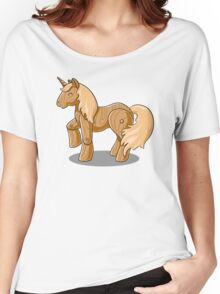Unocchio the Wooden Unicorn Women's Relaxed Fit T-Shirt