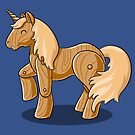Unocchio the Wooden Unicorn by Stephanie Jayne Whitcomb
