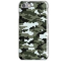 8 Bit Pixel Urban Camouflage iPhone Case/Skin