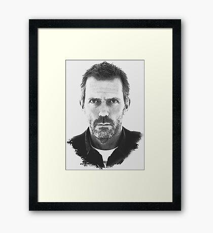 Everybody Lies – House M.D. Framed Print