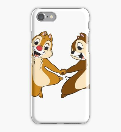 chip and dale iPhone Case/Skin