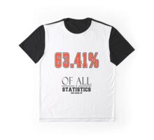 Statistics Math (Joke) Graphic T-Shirt
