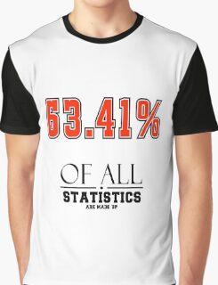 Statistics Math (Joke) Graphic T-Shirt