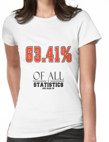 Statistics Math (Joke) Womens Fitted T-Shirt