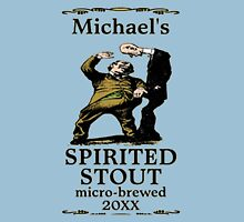 funny vintage spirited stout beer label Unisex T-Shirt
