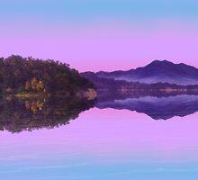 Wivenhoe Twilight by Cary McAulay