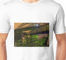 The Grand Junction Railroad crossing in Boston. Unisex T-Shirt