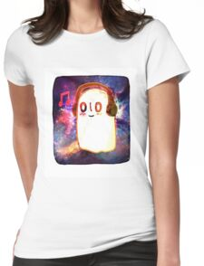Undertale - Galaxy Napstablook Womens Fitted T-Shirt