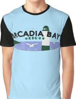 Life is strange Arcadia Bay Oregon Graphic T-Shirt