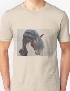 Horse in the Abstract - Original acrylic painting Unisex T-Shirt