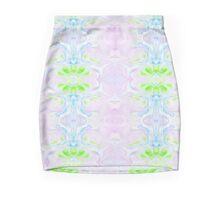 Vibrant Pastel Rorschach A03 Mini Skirt