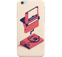 ElectroVideo Megadrive/Genesis (Red) iPhone Case/Skin