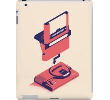 ElectroVideo Megadrive/Genesis (Red) iPad Case/Skin