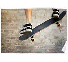 Skateboard -- ollie air Poster