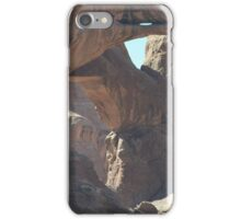 Double Arch in Arches National Park, Utah. iPhone Case/Skin