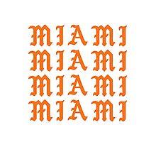 LIFE OF MIAMI  Photographic Print