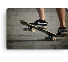 Skateboard -- manual Canvas Print