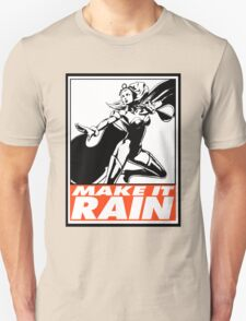 Storm Make It Rain Obey Design T-Shirt