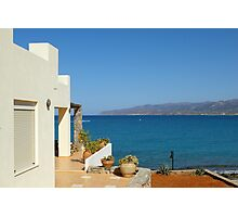 Stalis (Stalida), Crete Photographic Print