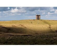 Lyme Park Hunting Tower Photographic Print