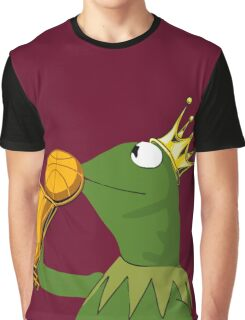 Frog Kissing Championship Trophy Graphic T-Shirt