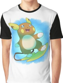 Alolan Raichu Graphic T-Shirt
