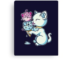 Mice Cream Canvas Print