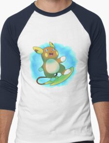 Alolan Raichu Men's Baseball ¾ T-Shirt