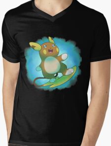 Alolan Raichu Mens V-Neck T-Shirt