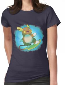 Alolan Raichu Womens Fitted T-Shirt