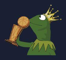 Frog Kissing Championship Trophy Kids Tee