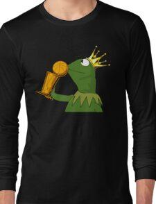 Frog Kissing Championship Trophy Long Sleeve T-Shirt