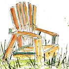 Beach Chair by Sally Griffin