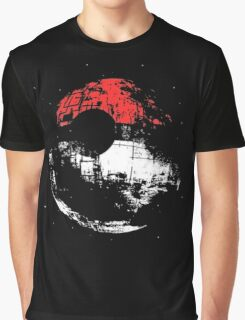 Death Star Pokeball Graphic T-Shirt