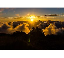 Haleakala Sunset Photographic Print