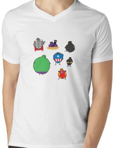The Avengebirbs + Winter Birb Mens V-Neck T-Shirt