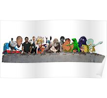 Harambe's Last Supper Poster