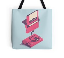 ElectroVideo Megadrive/Genesis (Pink and Blue) Tote Bag