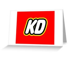 KD Lego Greeting Card