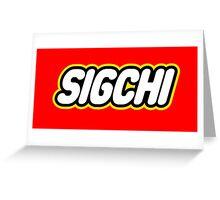SigChi Lego Greeting Card