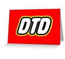 DTD Lego Greeting Card