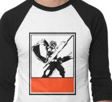 Srider Hiryu Obey Design Men's Baseball ¾ T-Shirt