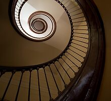 Spirals in brown tones by JBlaminsky