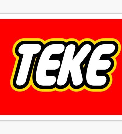 Teke Logo Sticker