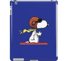 flying snoopy dom iPad Case/Skin