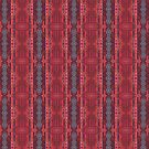 Red Bubbles Tapestry by Barbara Storey